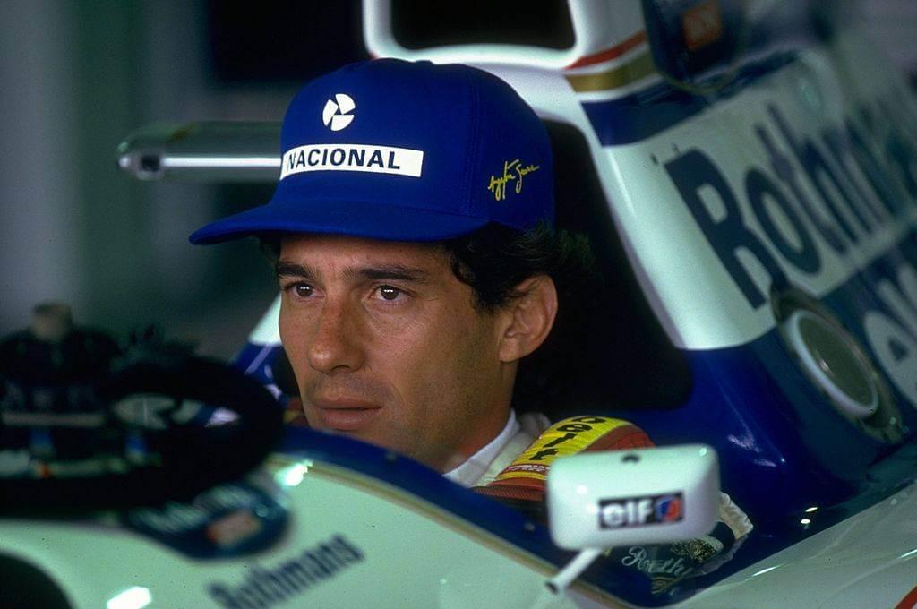 Ayrton Senna era piloto da Williams quando morreu em maio de 1994