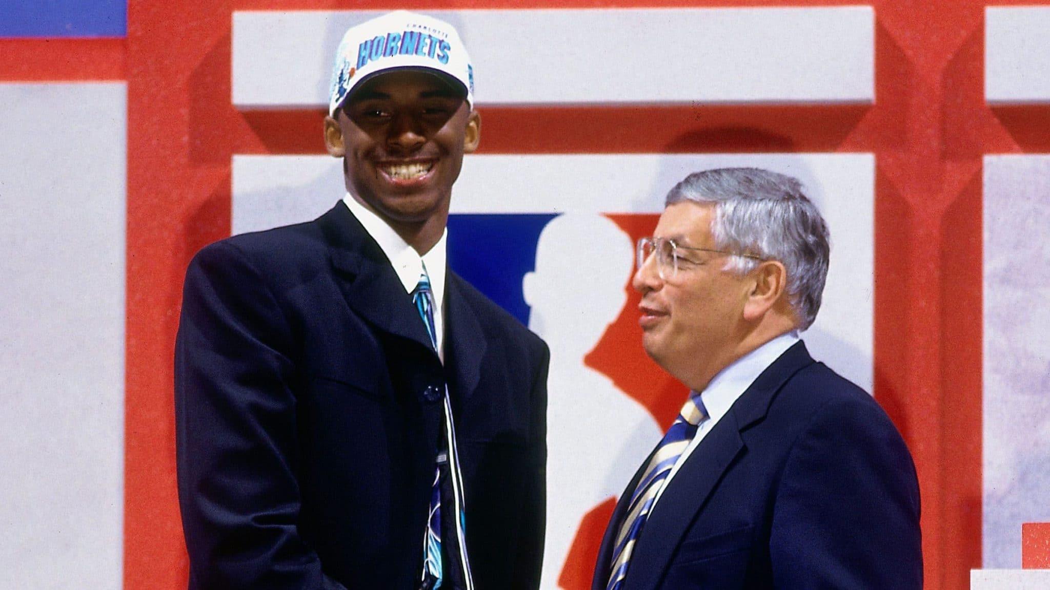 Kobe Bryant draft Charlotte Hornets