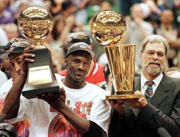 Michael Jordan MVP das finais da NBA