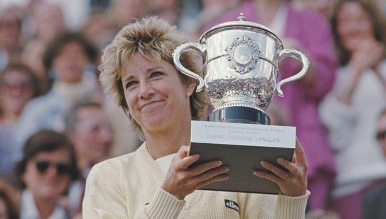 Chris Evert maior campeã da história de Roland Garros