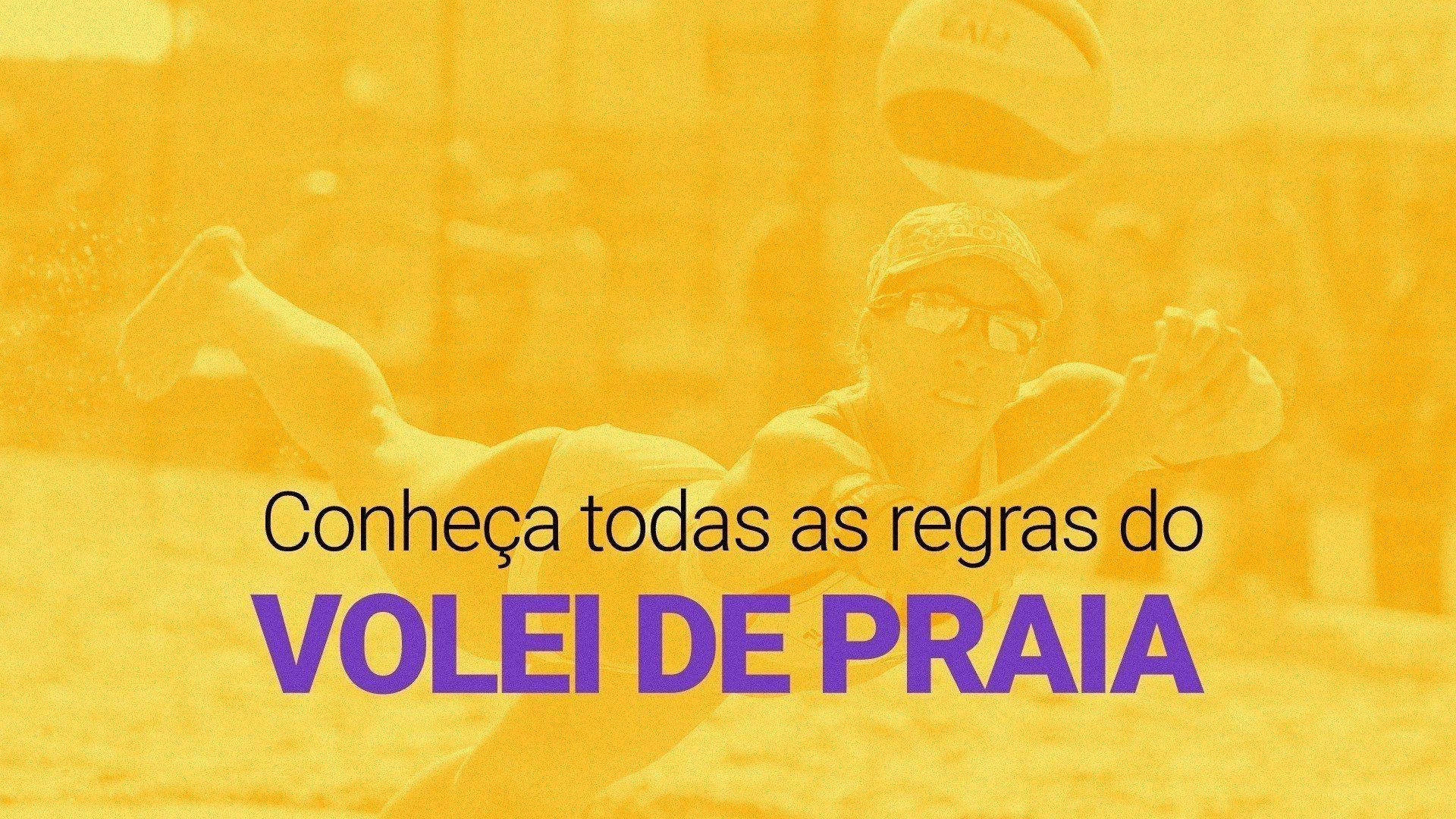 325888cb9 Regras do vôlei de praia  saiba as diferenças para o voleibol