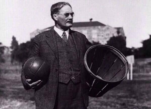 James Naismith inventor do basquete