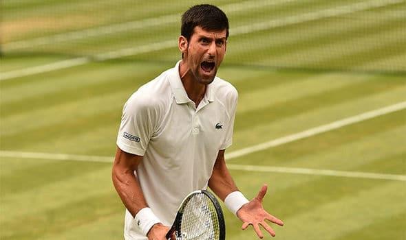 Novak Djokovic, campeão do torneio de Wimbledon