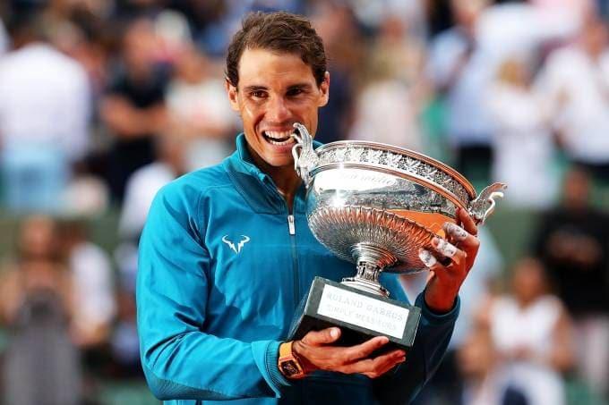 Rafael Nadal, maior campeão de Roland Garros