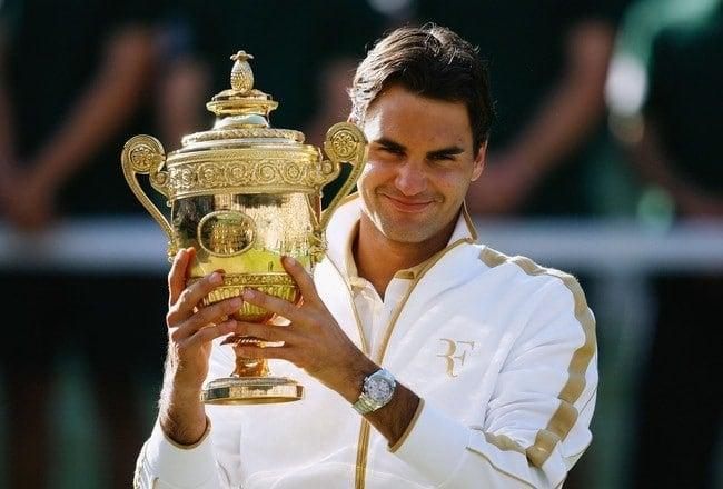 Roger Federer maior tenista de todos os tempos