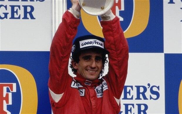 Alain Prost melhor piloto de Fórmula 1
