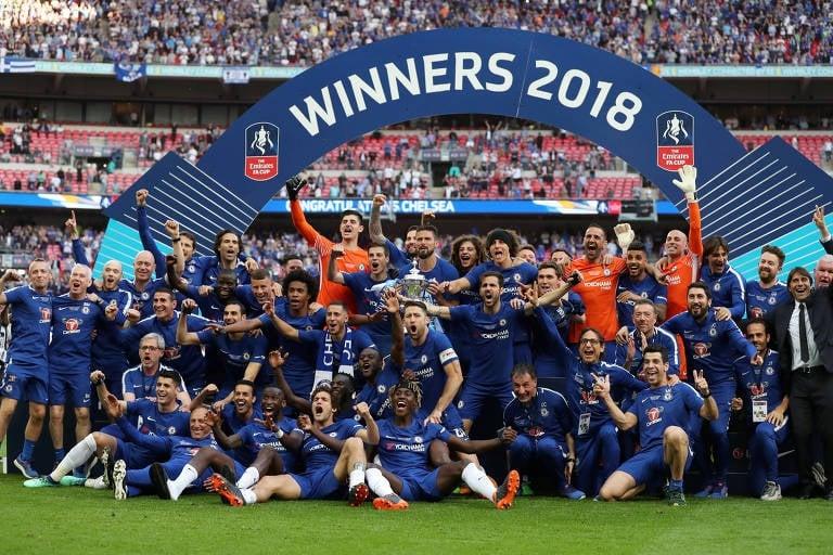Chelsea campeão da Copa da Inglaterra 2018