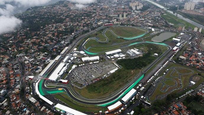 Circuito de Interlagos Fórmula 1
