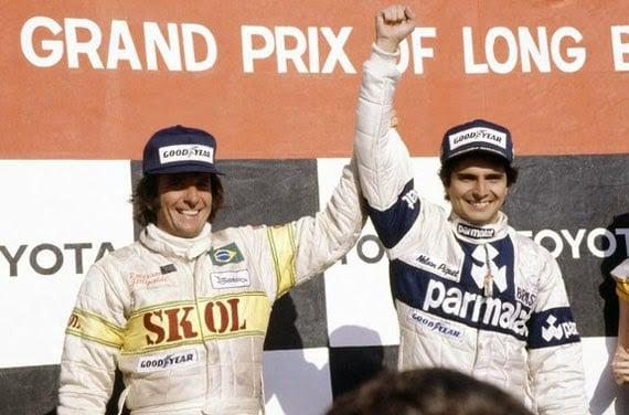 Emerson Fittipaldi e Nelson Piquet pilotos brasileiros campeões da Fórmula 1