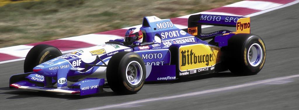 Michael Schumacher campeão da Fórmula 1 pela equipe Benetton