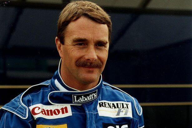 Nigel Mansell melhor piloto de Fórmula 1