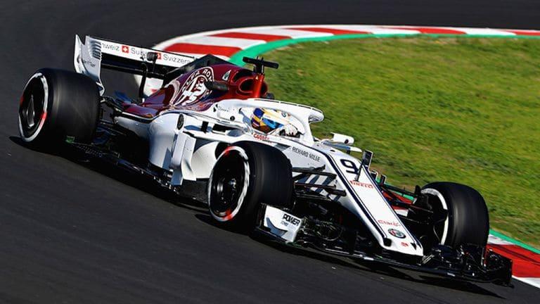Carro da Sauber, equipe de Fórmula 1