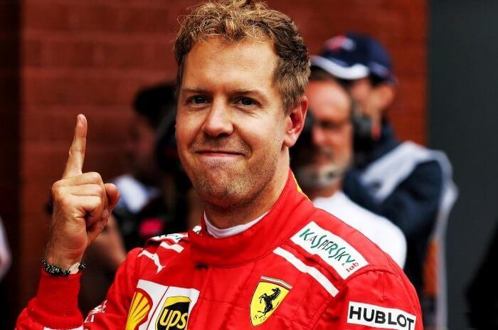 Sebastian Vettel melhor piloto de Fórmula 1