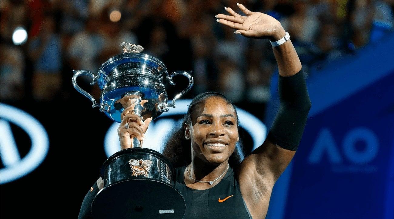 Serena Williams maior campeão do Australian Open na era aberta