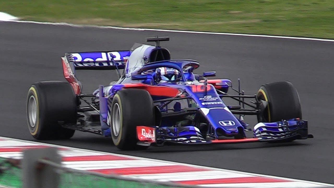 Carro da Toro Rosso, equipe de Fórmula 1