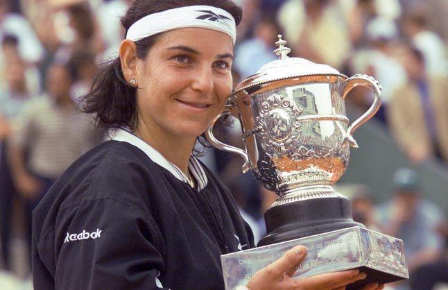 Arantxa Sánchez-Vicario melhores jogadoras de tênis de todos os tempos