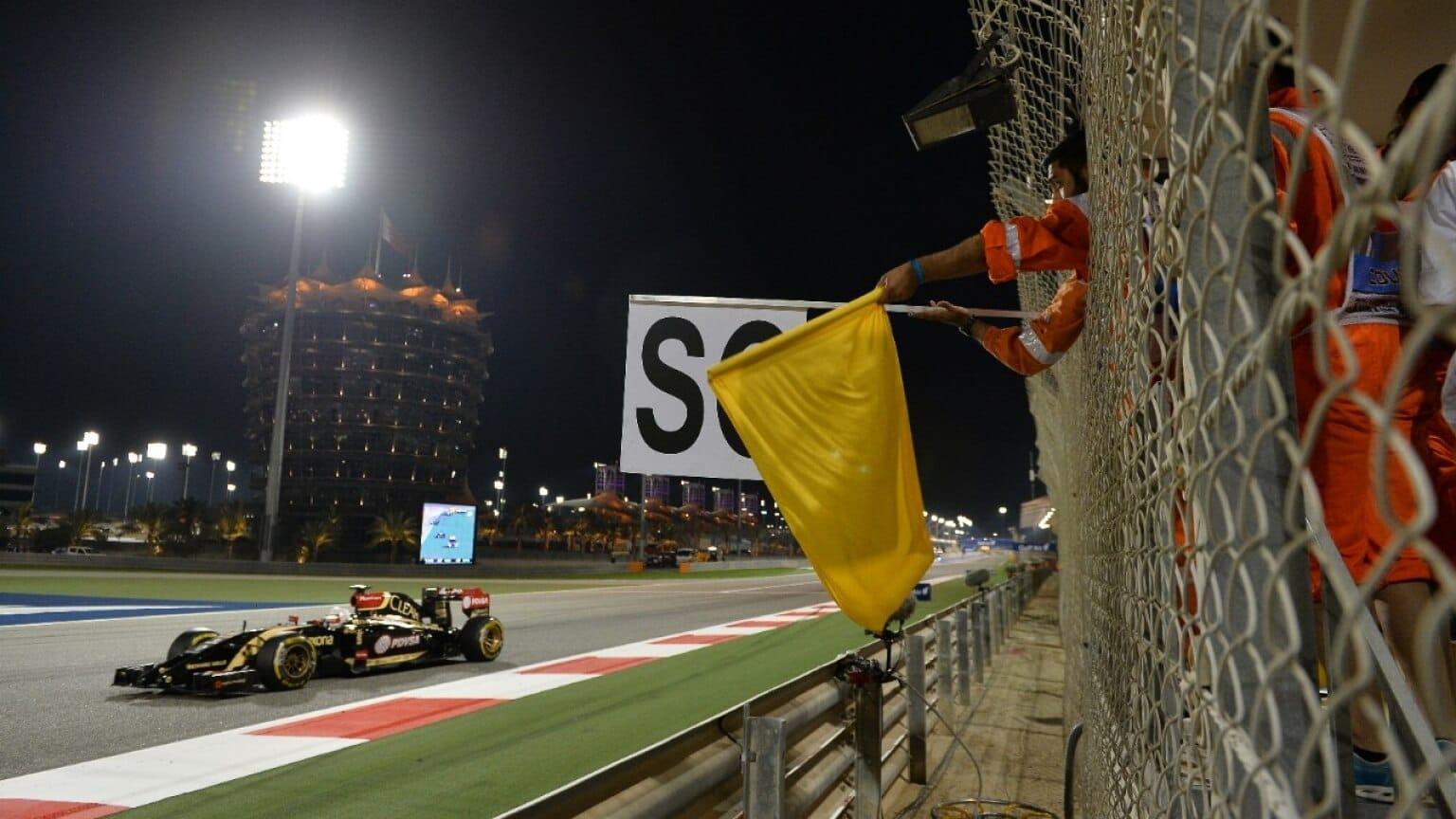 Bandeira amarela da Fórmula 1