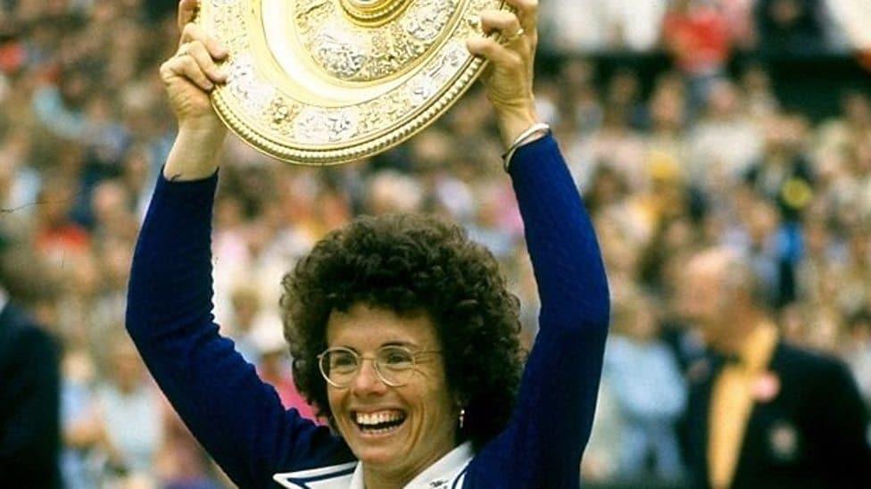 Tenista Billie Jean King