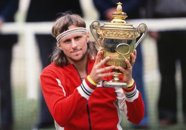 Bjorn Borg um dos melhores tenistas de todos os tempos