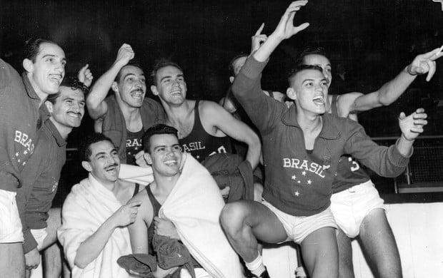 Brasil medalha de bronze no basquete na Olimpíada de 1948