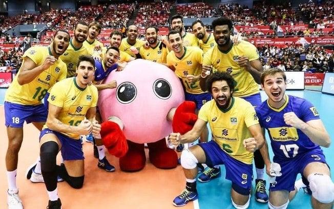 Brasil tricampeão da Copa do Mundo de Vôlei Masculino