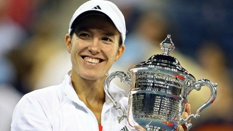 Justine Henin uma das melhores tenistas de todos os tempos