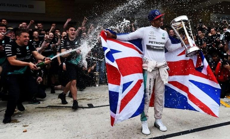 Lewis Hamilton campeão da Fórmula 1