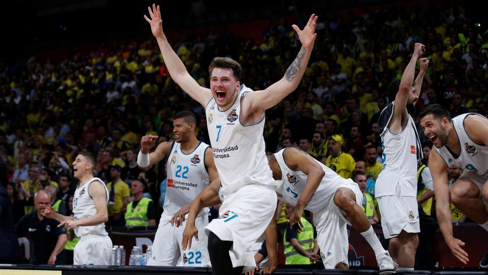 Luka Doncic Real Madrid campeão da Euroliga de basquete