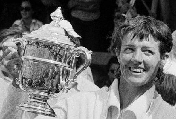 Margaret Court melhor tenista de todos os tempos