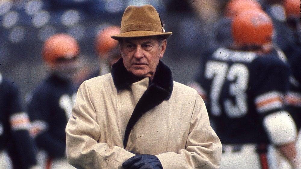 Paul Brown treinador de futebol americano