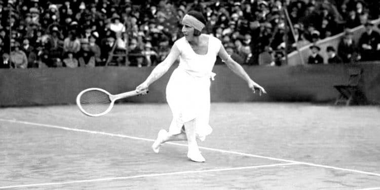 Suzanne Lenglen melhores jogadoras de tênis de todos os tempos
