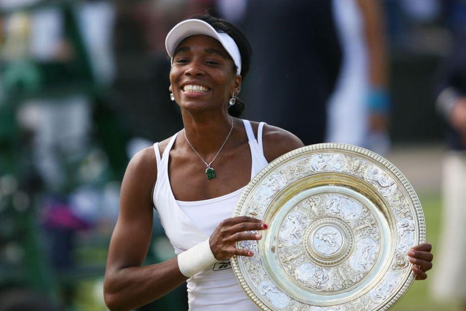 Venus Williams uma das melhores tenistas de todos os tempos