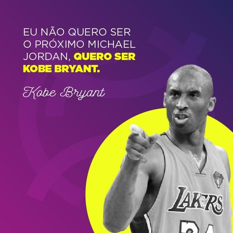 Frase de Kobe Bryant sobre Michael Jordan