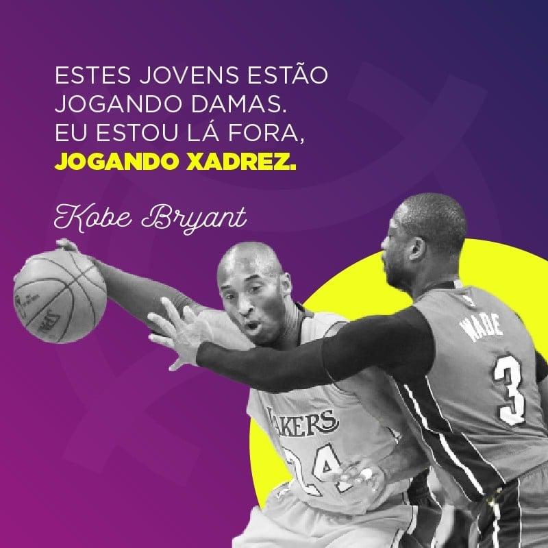 Frase de Kobe Bryant