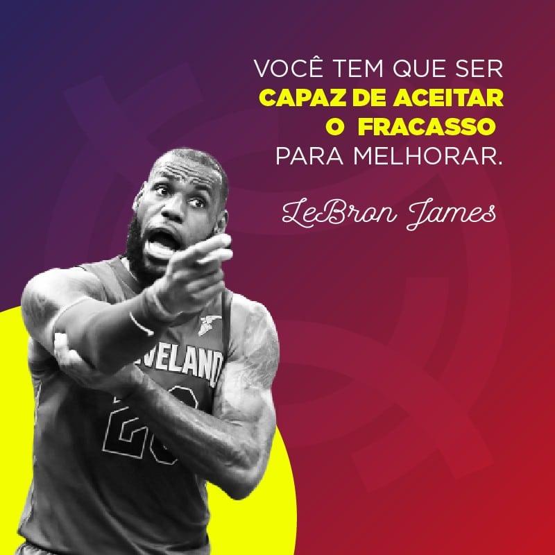 Frase de basquete de LeBron James