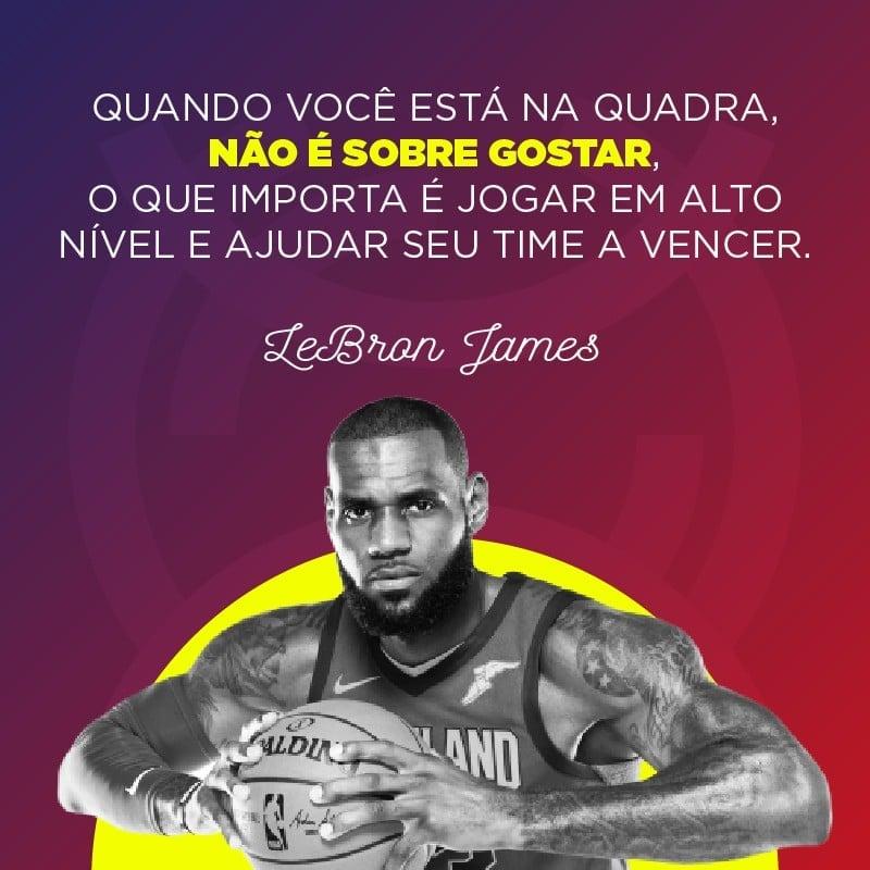 Frase de LeBron James