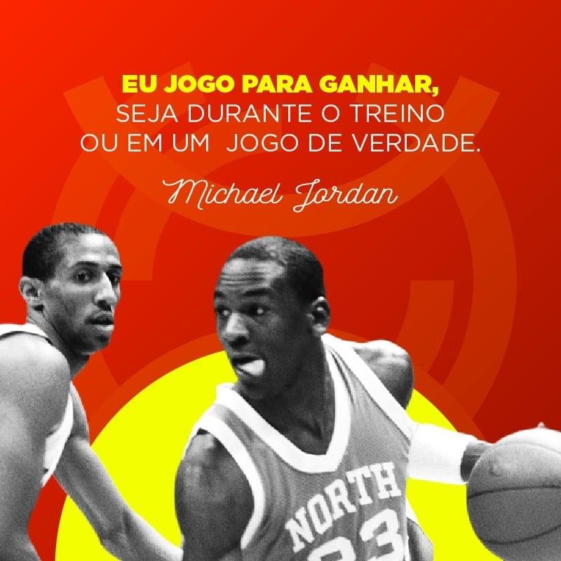 Frase de basquete de Michael Jordan