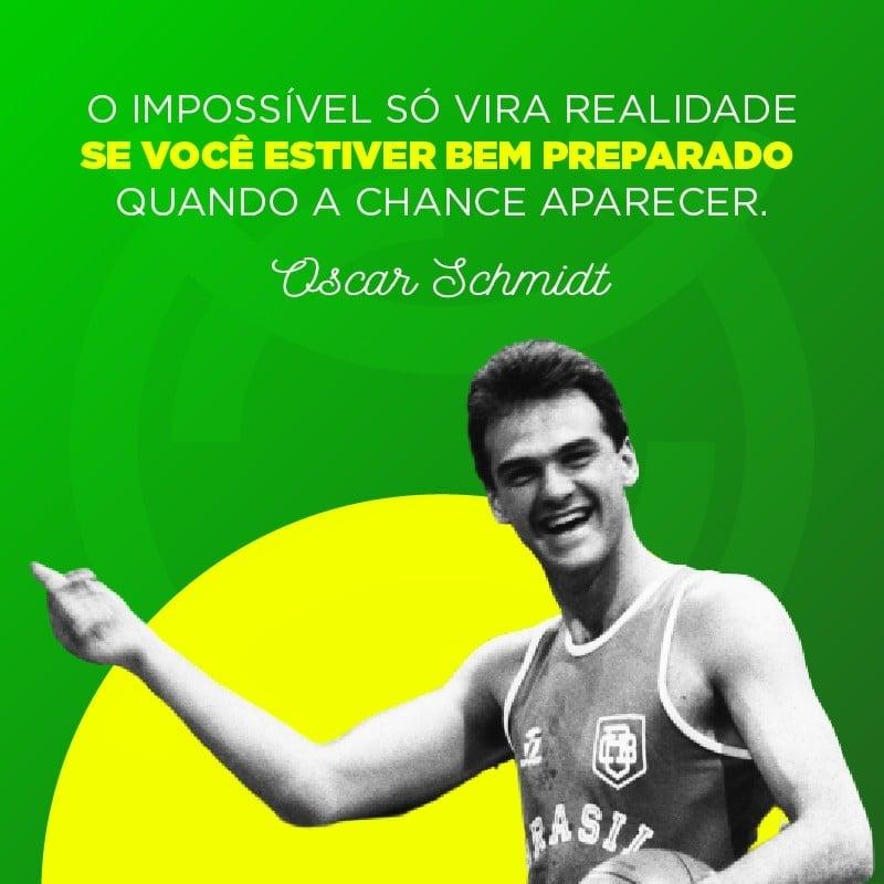 Frase de Oscar Schmidt