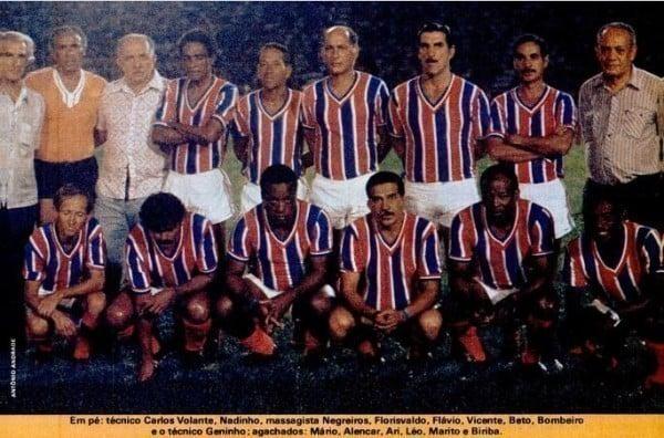 Bahia primeiro campeão da Taça Brasil