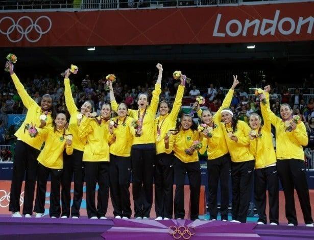 Brasil bicampeão olímpico no vôlei feminino
