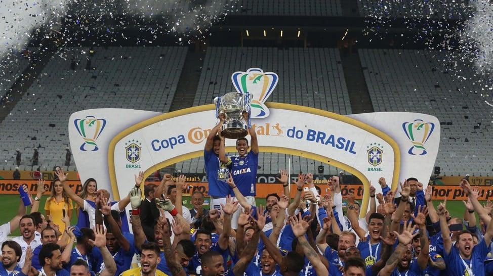 Cruzeiro maior campeão da Copa do Brasil