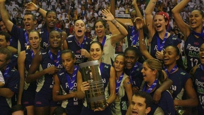 Fernanda Venturini campeão da Superliga Feminina em 2006