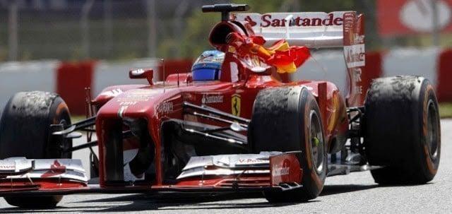 Graining de pneus da Fórmula 1