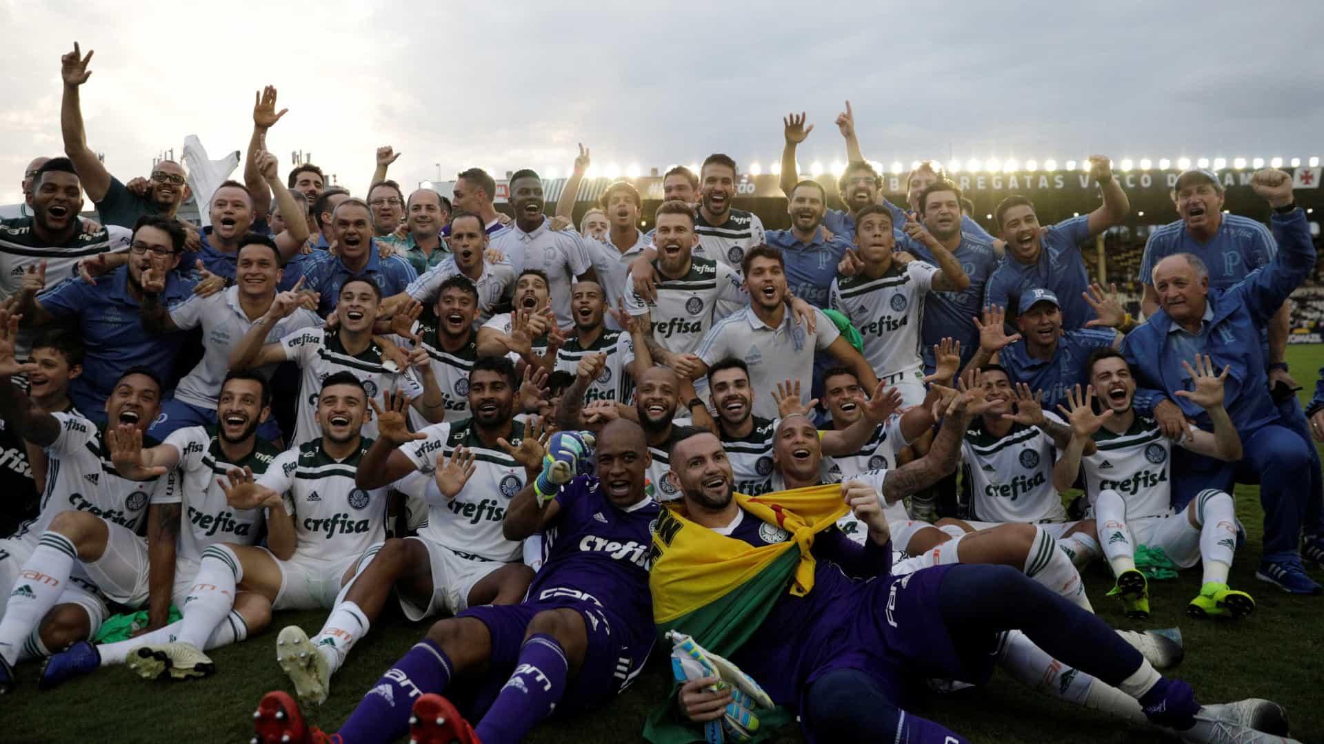 Palmeiras maior vencedor do Campeonato Brasileiro Série A