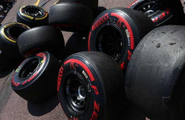Pneu slick Fórmula 1