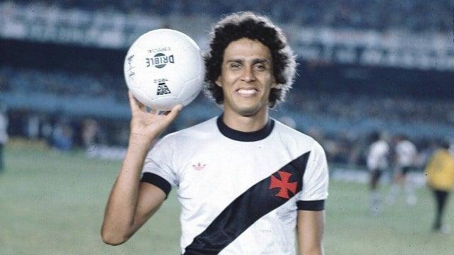 Roberto Dinamite, maior artilheiro da história do Campeonato Brasileiro