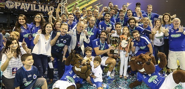 Sada Cruzeiro é hexacampeão da Superliga Masculina