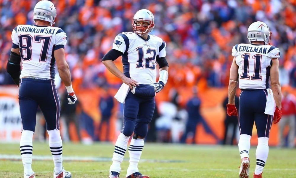 Tom Brady, Gronkowski e Edelman