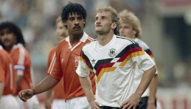 Camisa da Alemanha na Copa de 1990