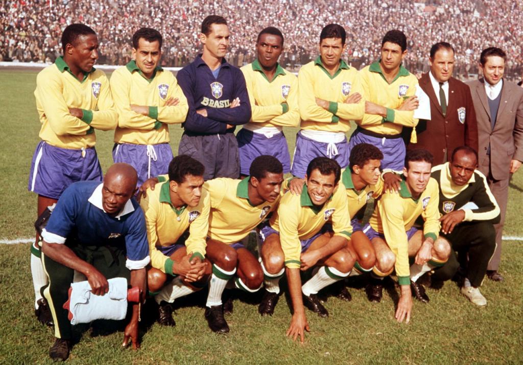 Camisa da Seleção Brasileira na Copa do Mundo de 1962